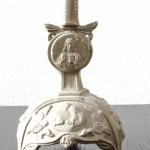 Kerzenständer aus einer Kirchenauflösung