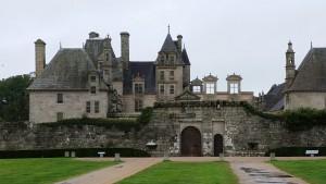 Eine der historischen Sehenswürdigkeiten: Chateau Kerjean