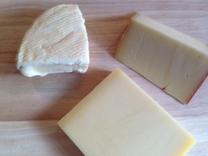 Unverzichtbar- der Käse: Alta Badia, Muster und Gruyère