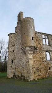 Interessante Schlossruine