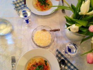 Dinner for two - mit leckerem Pastagericht