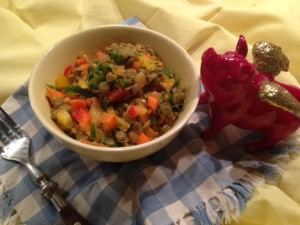 Salat - eine leckere Alternative aus Linsen