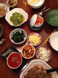 Bibimbap Saucen + Salate