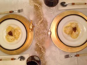 Parmesan-Spaghetti - ein köstliches Gericht