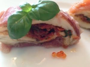 Mozzarella-Kugel - da bekommt man gleich Appetit