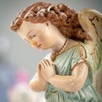 Für eine gemütliche Deko: zwei Engel