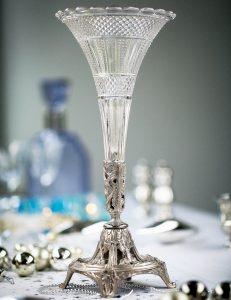 Glasgefäß als Vase