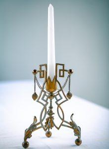 Ein ungewöhnlicher Kerzenständer