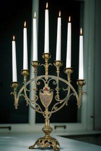 Kerzenständer aus Frankreich