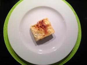 Lasagne bereit zum Essen