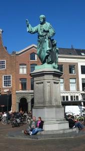 Lebendiger Mittelpunkt in Haarlem