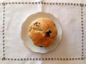 Fluffige Blaubeer-Muffins