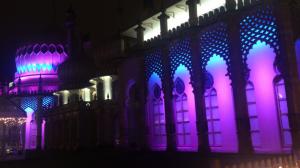 Brighton beleuchtet