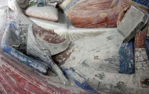 Das Grabmahl Eleonore von Aquitanien