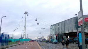 Die Seilbahn in Greenwich