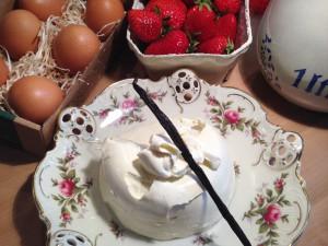 Zutaten für die leckere Eiscreme