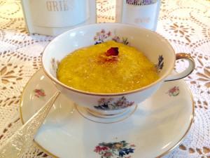 Ein einzigartiges Dessert mit tollen Gewürzen