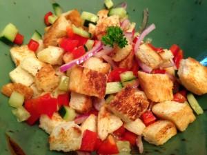 Croutons-Salat