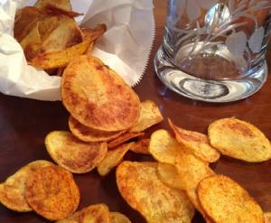 Kartoffelchips mit Paprika-Chili-Flavour