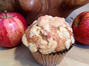 Eine schöne Variante für den Herbst: Apfel-Muffins