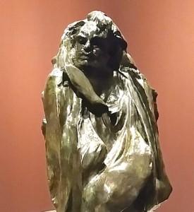 Rodins Porträt des berühmten Schriftstellers