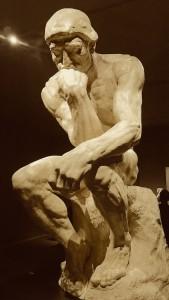 Rodins bekanntestes Werk: der Denker