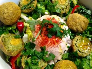 Falafel mit Salat