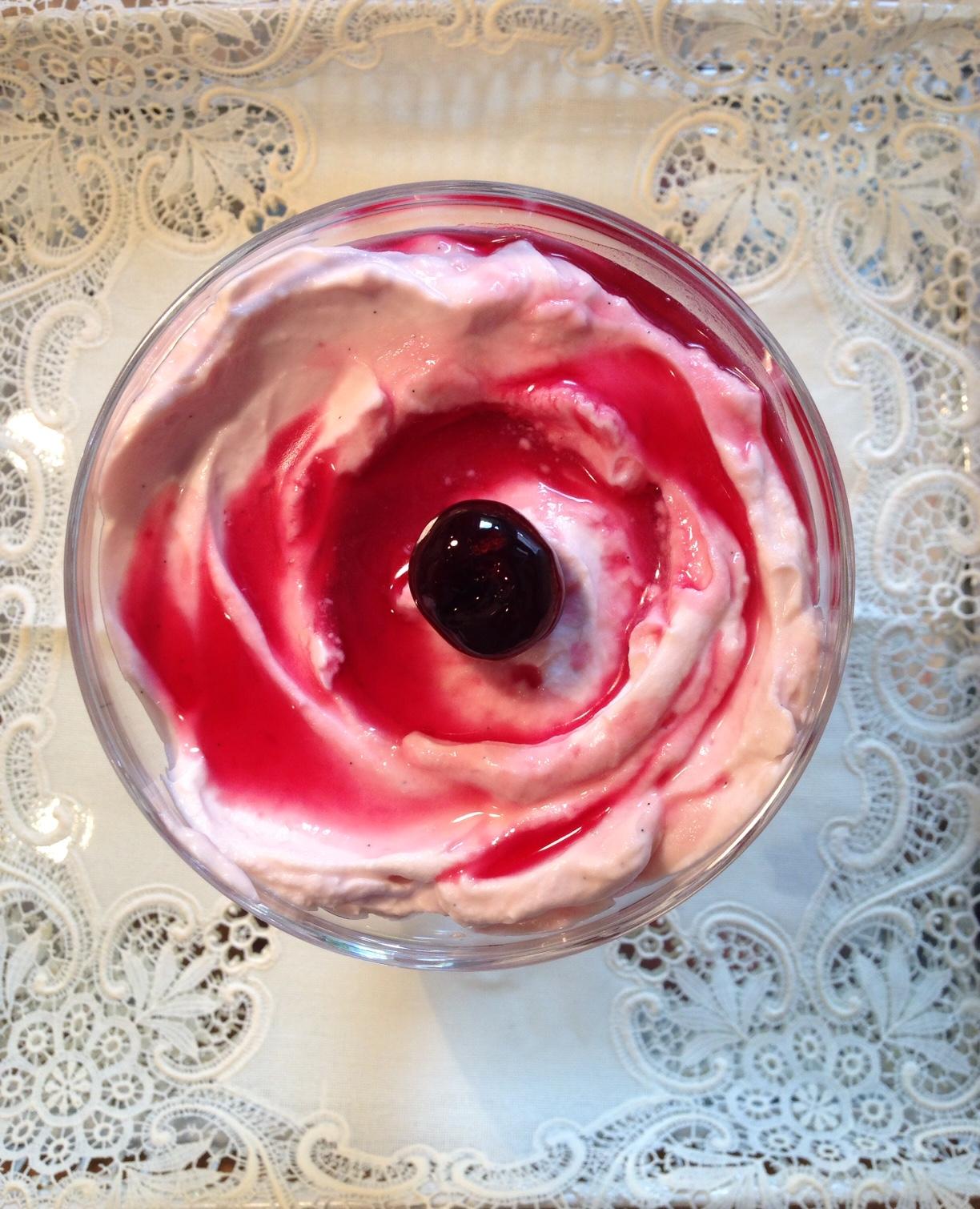 Leckeres Dessert: Amarena-Mascarpone