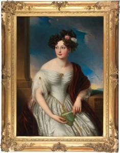 Dieses Bildnis der Gräfin Rhédey von Kis-Rhéde konnte durch die Staatlichen Schlösser und Gärten Baden-Württemberg erworben werden. (Bild: SSG)-wien_2016_ssg-pressebild
