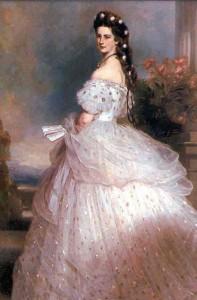 Porträt von Franz Winterhalter: Sissi