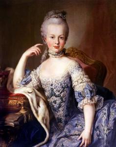 Die junge Marie Antoinette