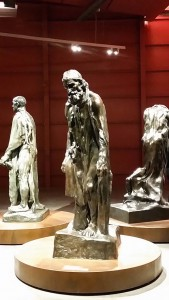 "Denkmal ""Die Bürger von Calais"""