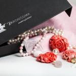 Petticoat-Kleid mit Accessoires