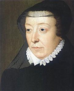 Katharina in Trauerkleidung