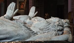 Vereint im Grabmal: Katharina und Henri II