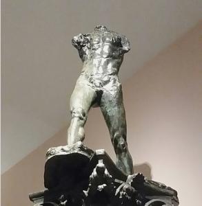 Skulptur Der Schreitende