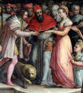 Die Heirat der jungen Katharina von Medici