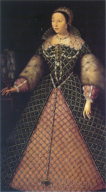 Im festlichen Gewand: Katharina von Medici