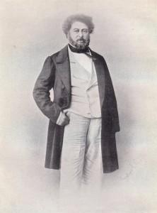 Der Schriftsteller Alexandre Dumas