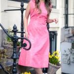Kleid im Petticoat-Stil