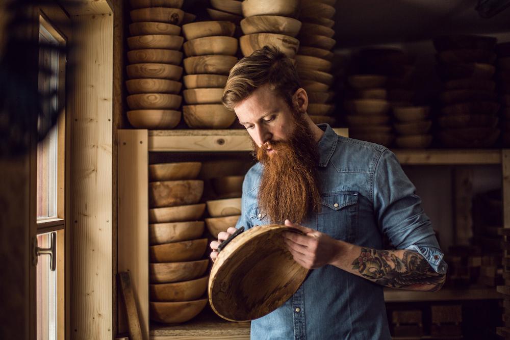 Holzkunstwerke aus dem Berchtesgadner Land