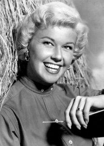 Doris Day zu Beginn ihrer Karriere