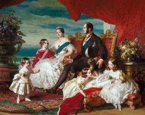 Porträt der königlichen Familie von Franz Winterhalter