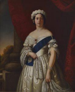 Königin Victoria als junge Frau