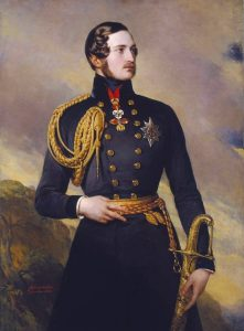 Ein Porträt des gutaussehenden Prinzen