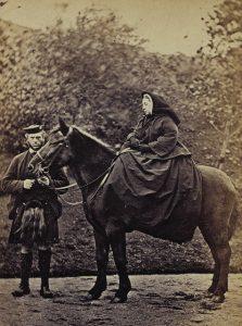Königin Victoria mit ihrem Diener John Brown