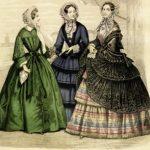 Die Zeit von Korsetts und Petticoats