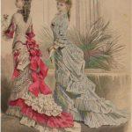 Modetrends: Schleppe und Wattehintern