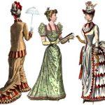Modetrend um 1880: Wattehintern
