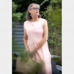 Kleid mit längerem Rock